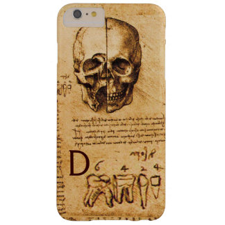 SKULL AND TEETH ,DENTAL CLINIC ,DENTIST MONOGRAM BARELY THERE iPhone 6 PLUS CASE