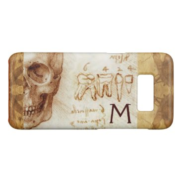 Beach Themed SKULL AND TEETH ,DENTAL CLINIC ,DENTIST MONOGRAM Case-Mate SAMSUNG GALAXY S8 CASE