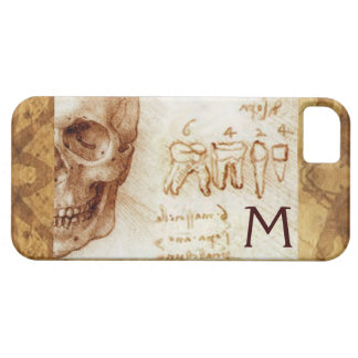 SKULL AND TEETH ,DENTAL CLINIC ,DENTIST MONOGRAM iPhone 5 CASE