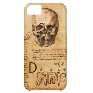 SKULL AND TEETH ,DENTAL CLINIC ,DENTIST MONOGRAM iPhone 5C CASES