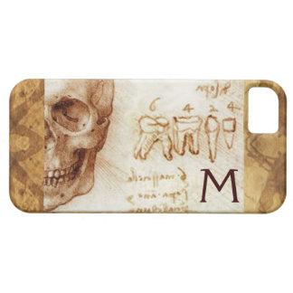 SKULL AND TEETH ,DENTAL CLINIC ,DENTIST MONOGRAM iPhone SE/5/5s CASE