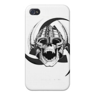 skull and triple horn iPhone 4/4S covers