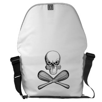 Skull and Whisks Courier Bag