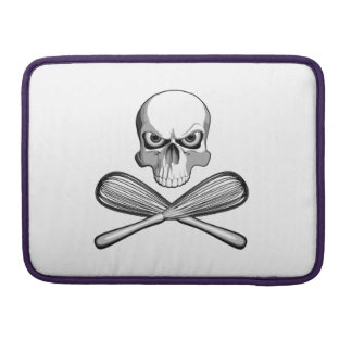 Skull and Whisks Sleeve For MacBook Pro