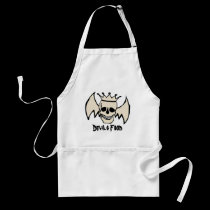 Skull and Wings Devils Food aprons