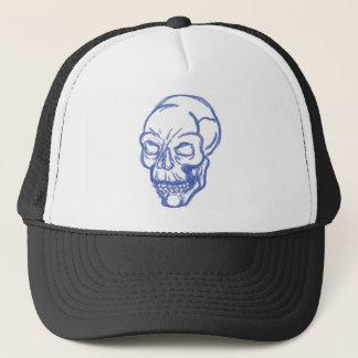skull appearal trucker hat