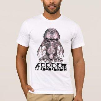 Pirate Skull Arrrr Tee Shirt