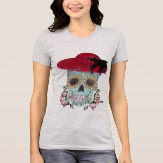 skull art deco, spooky  halloween shirt, t-shirt