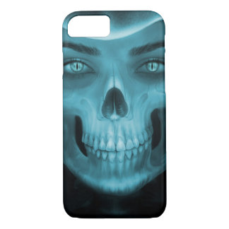 Skull Art Demon iPhone 7, Barely There iPhone 8/7 Case