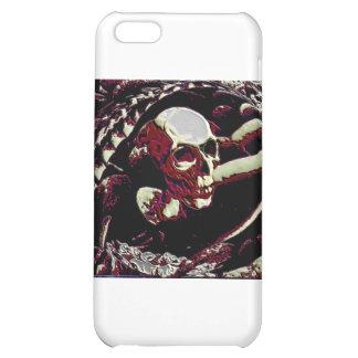 skull art iPhone 5C cases