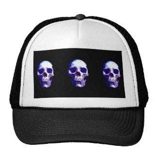 Skull Artwork Mesh Hat