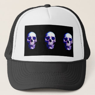 Skull Artwork Trucker Hat