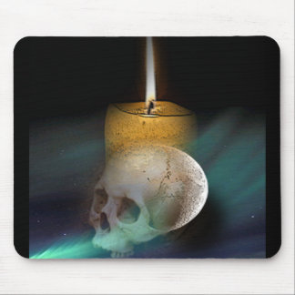 skull asteriod mouse pad