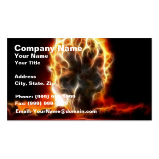 Skull Atomic Bomb Double-Sided Standard Business Cards (Pack Of 100)