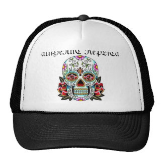 skull, aUtHeNtiC RePLiCa Trucker Hat