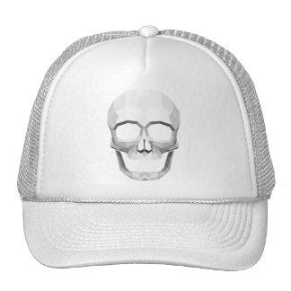 Skull B&W Trucker Hats