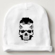 Skull Baby Beanie