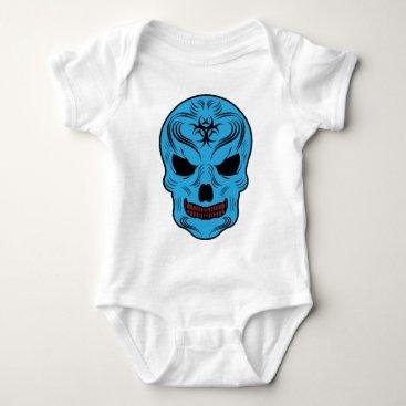 Halloween Themed Skull Baby Bodysuit
