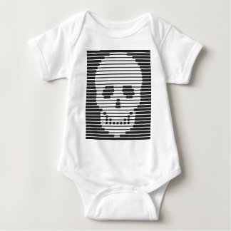 skull - ☠ baby bodysuit