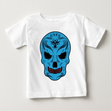Halloween Themed Skull Baby T-Shirt