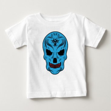 Halloween Themed Skull Baby T-Shirt