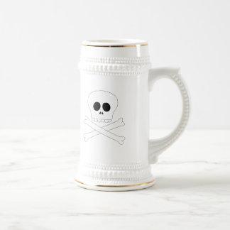 Skull baby t-shirt coffee mug