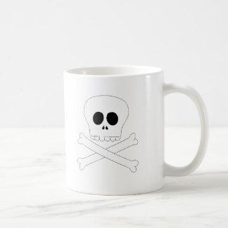 Skull baby t-shirt mugs
