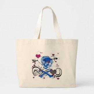 skull bag bag