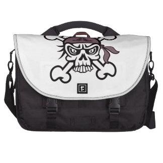 Skull Bandana Laptop Bags