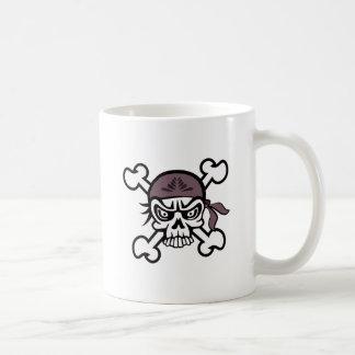 Skull Bandana Mugs