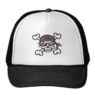 Skull Bandana Trucker Hat