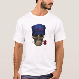 Skull Baseball Cap T-Shirt