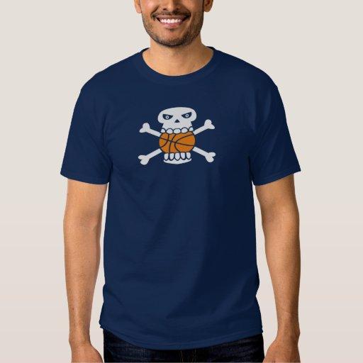 Skull×Basketball 01 T Shirt