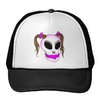skull beauty-1 mesh hat