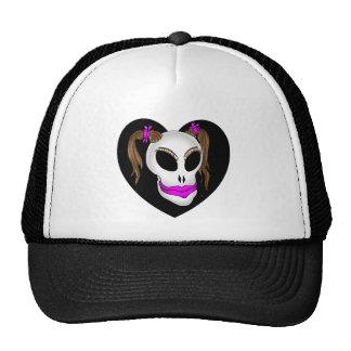 skull beauty-1 hats