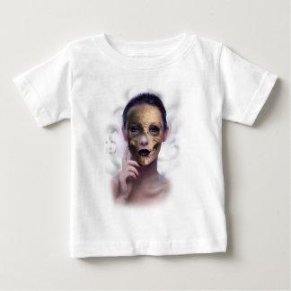 Skull Beauty Model Face Skeleton Baby T-Shirt