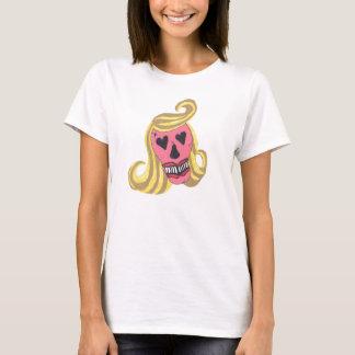 skull beauty t-shirt