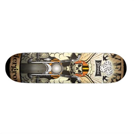 Skull_bell-shape-07 Skate Deck