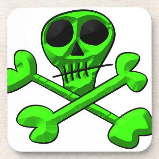 Skull Beverage Coaster