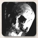 Skull Beverage Coasters