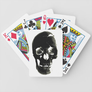 Skull Bicycle Playing Cards