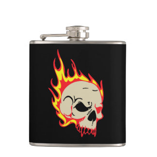 Skull Birthday Party Gift Flask
