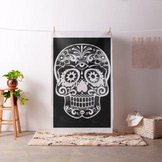 Skull,black and white 04 fabric