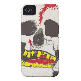 Skull Black Blackberry Bold Case