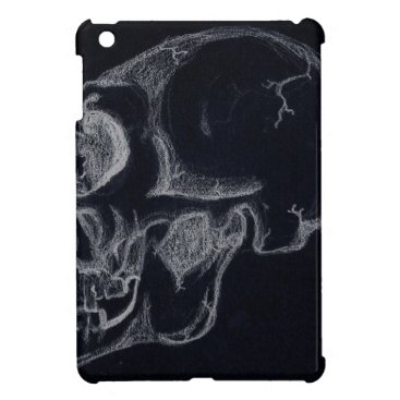skull black cover for the iPad mini
