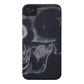 skull black iPhone 4 cover
