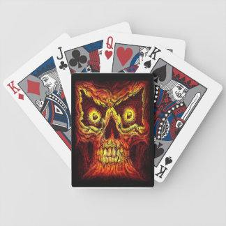 Skull Block Bicycle Playing Cards