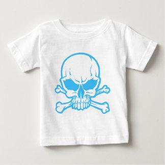 Skull Blue Baby T-Shirt