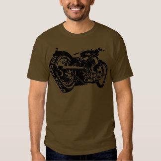 Skull Bobber (crisp blk) T-shirt