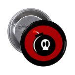 Skull Bomb 2 Inch Round Button